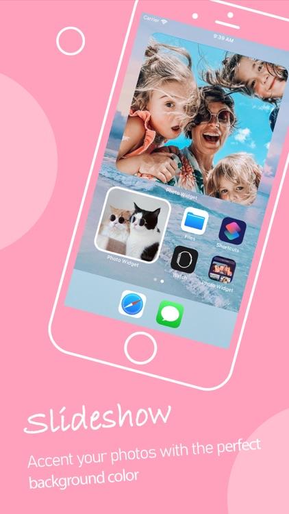 Photo Widgets. Phone app screenshot-4