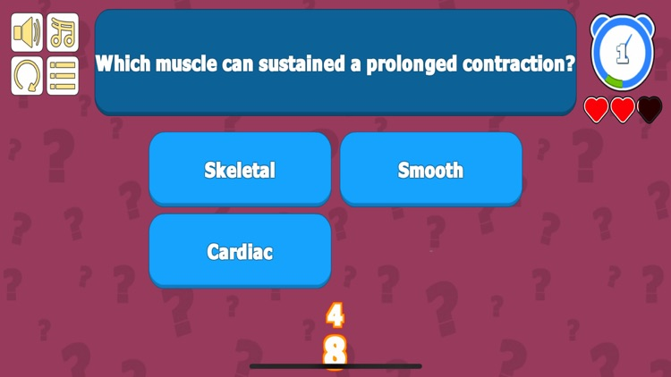 Tissue Anatomy & Physiology QZ screenshot-4