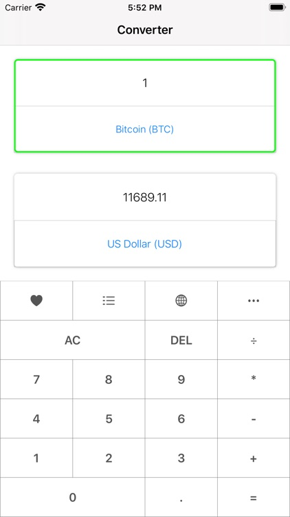 Crypto Converter & Calculator