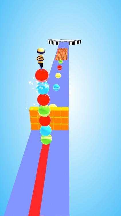 Ball Surfer - Giant Stack Rush screenshot-3