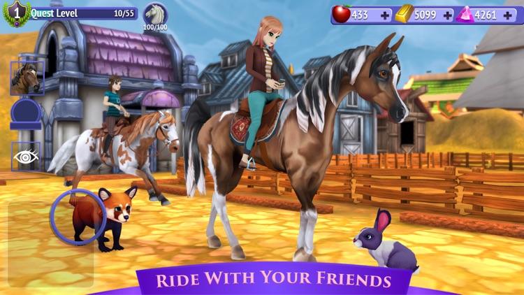 Horse Riding Tales: Wild Pony screenshot-3