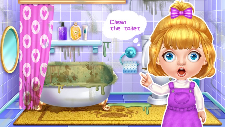Family cleaning day-Home Clean screenshot-4