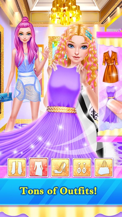 Hair Stylist Fashion Salon™ Screenshot on iOS