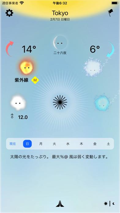 今日の天気、神様が教えます - Weather Godsのおすすめ画像1