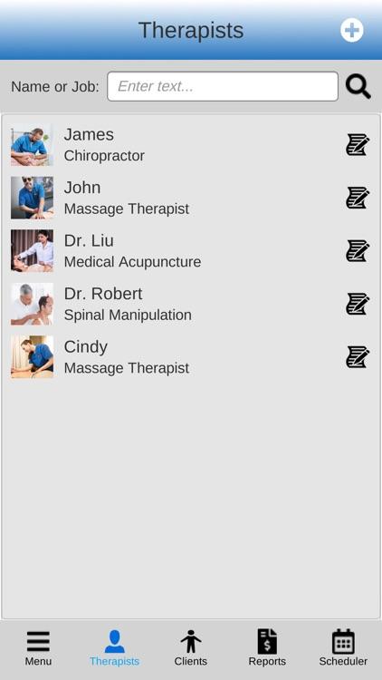 Massage Scheduling Software
