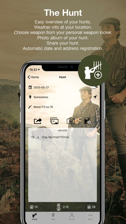 Hunting Game Counter
