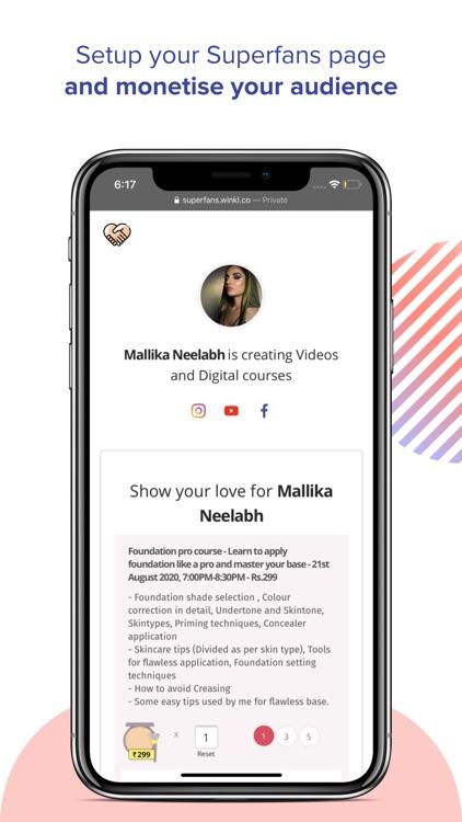 Winkl Influencer brand collabs screenshot-3