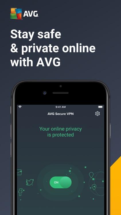 AVG Secure VPN & Proxy server screenshot-0