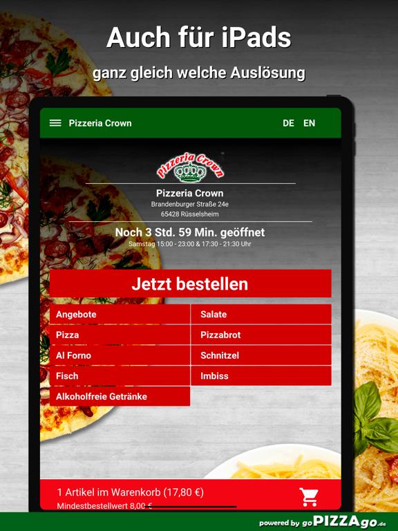 Pizzeria Crown Rüsselsheim screenshot 7