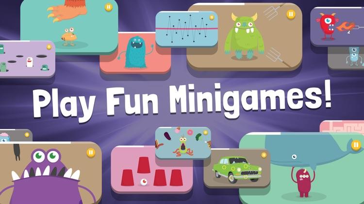 Monsterz Minigames Deluxe screenshot-0