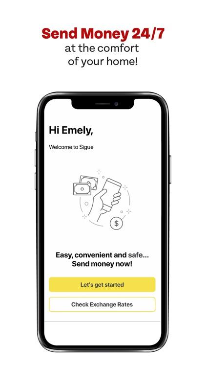 Sigue Money Transfer screenshot-3