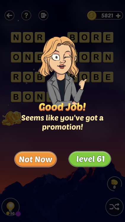 Mary's Promotion - Word Game screenshot-3