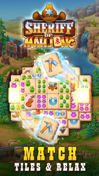 Sheriff of Mahjong screenshot-0