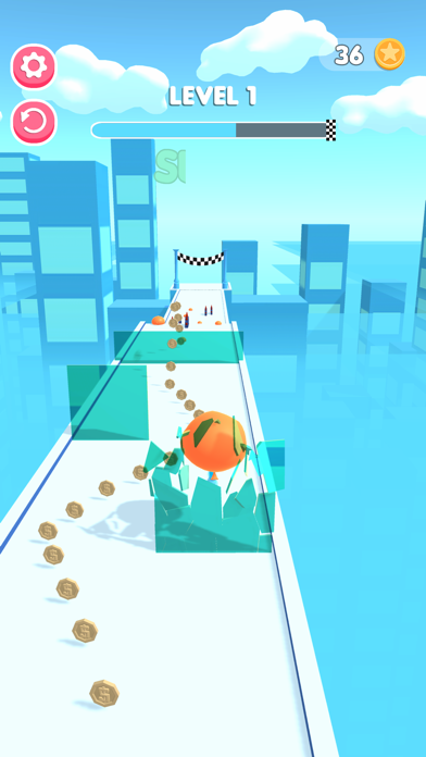 Water Bomb Roll screenshot 1