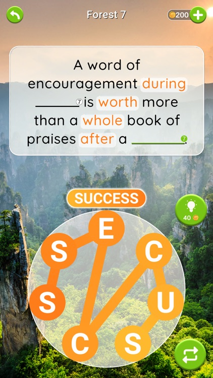Quotescapes: Word Game screenshot-4