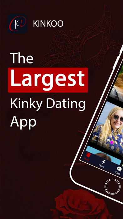 Kinkoo: Kinky, Fet BDSM Dating Screenshot