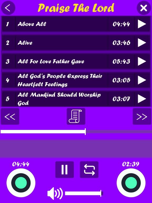 Hallelujah (English Songs) screenshot 10