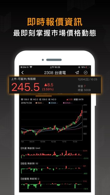 股市籌碼K線大股東 screenshot-4