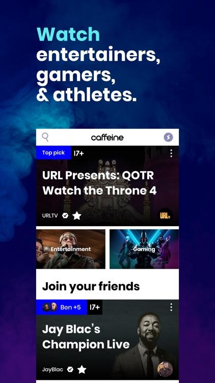 Caffeine: Live Streaming