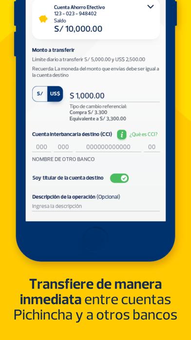 APP Banco Pichincha PerúCaptura de pantalla de4