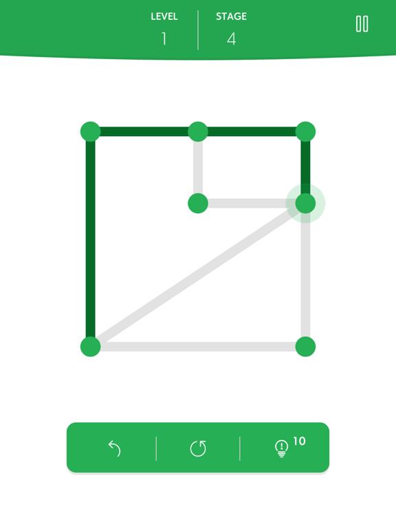 1LINE one-stroke puzzle gameのおすすめ画像3