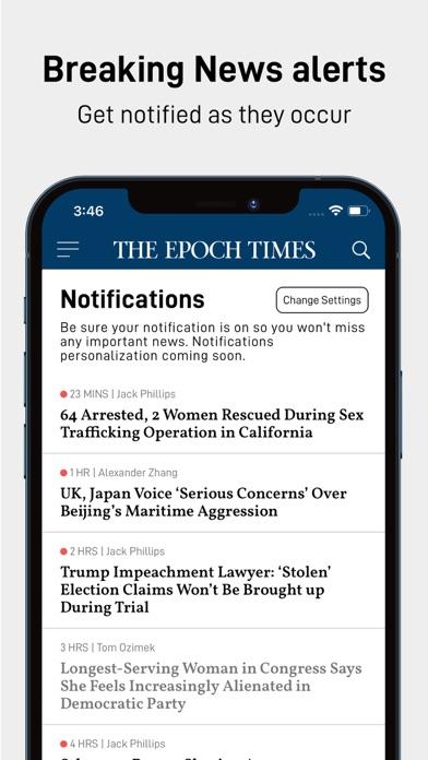 Epoch Times: Live & Breaking Screenshot