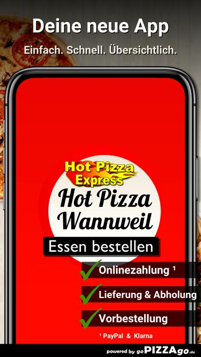 Hot Pizza Express Wannweil screenshot 1