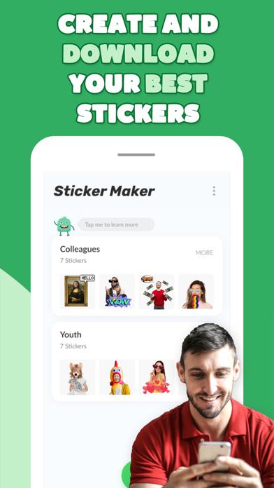 Crear Stickers Animados MakerCaptura de pantalla de5