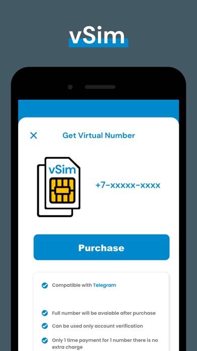 の仮想電話番号 Telegram紹介画像7