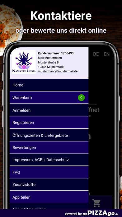 Namaste India Mössingen screenshot 3
