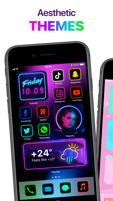 Themify: Icon Themer & Widgets Screenshot