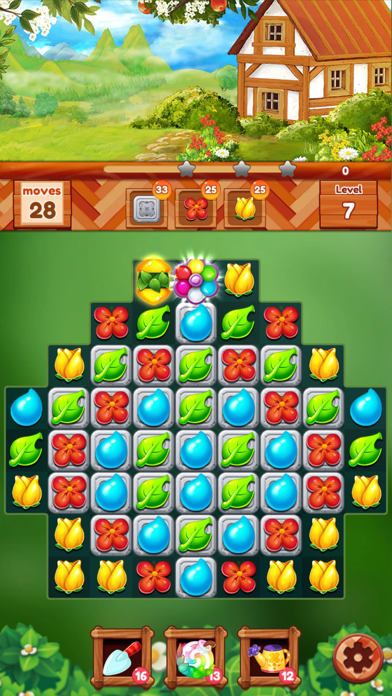 ガーデンドリームライフ:フラワーマッチ3パズルのおすすめ画像6