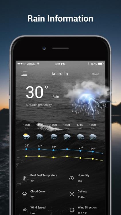 Weather Radar Live - Weather screenshot-3