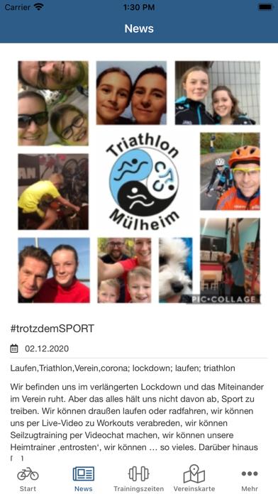 Marathon Triathlon MülheimScreenshot von 3