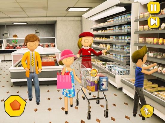 Shopping Mall- Stickman Family screenshot 6