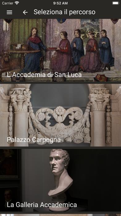 Accademia di San Luca screenshot 2