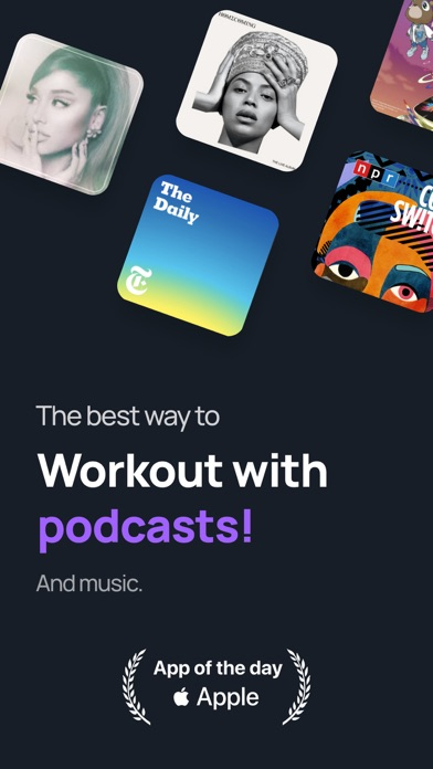 messages.download Shift - Workout with podcasts software