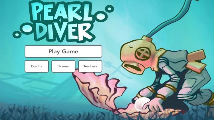 Pearl Diver: Number Line Math