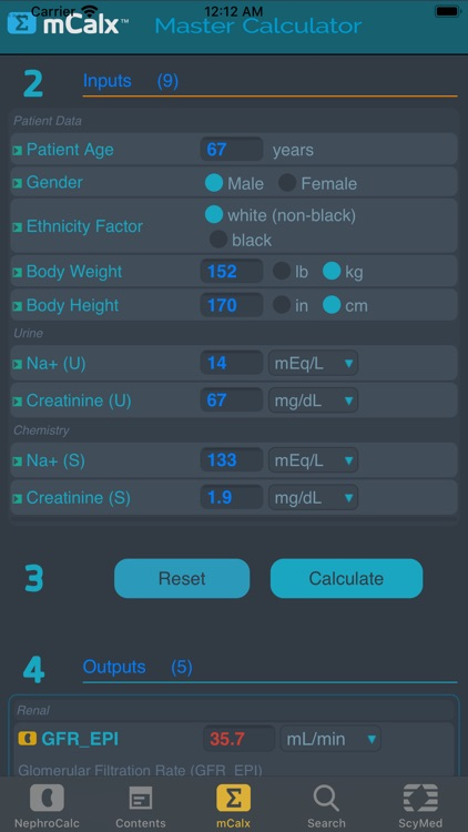 NephroCalc™ screenshot-3