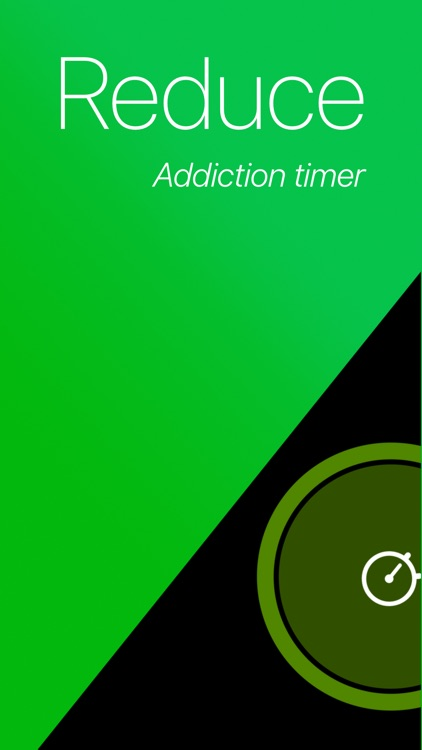 Reduce - Addiction Timer