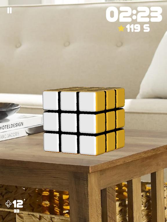 Ipad Screen Shot Rubiks Cube AR 5