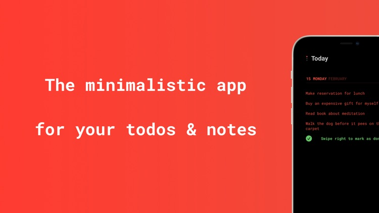 Listed: Todos & Notes