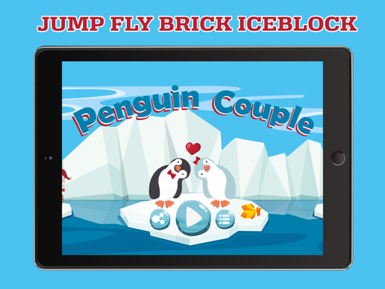 Penguin Couple: Ice Breaking