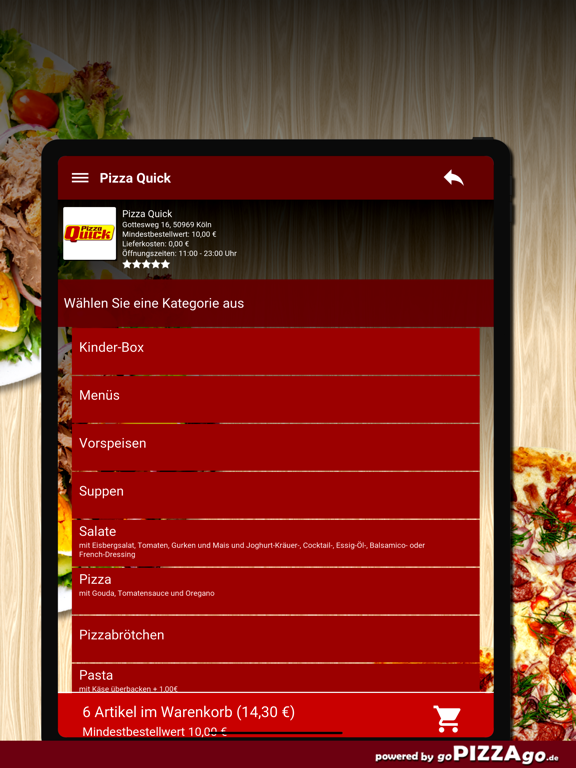 Pizza Quick Köln screenshot 8