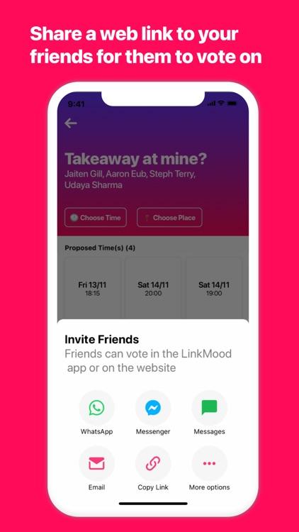 LinkMood - Plans With Friends screenshot-4
