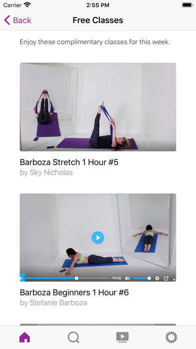 Barboza Method On Demand Screenshot
