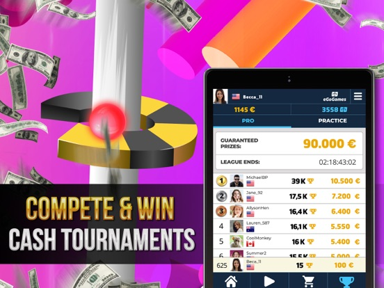 Helix Bounce - Jump & Win Cash screenshot 7