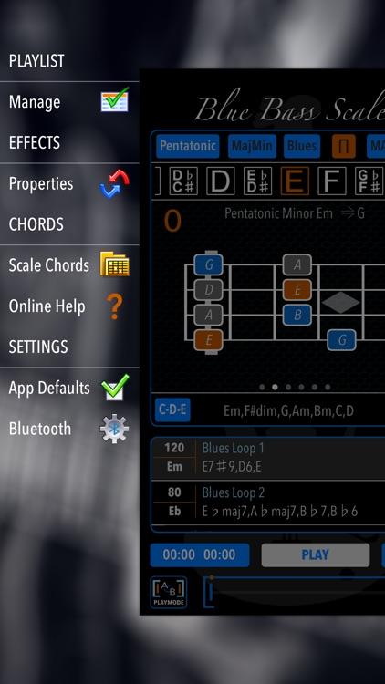 BlueBassScales screenshot-3