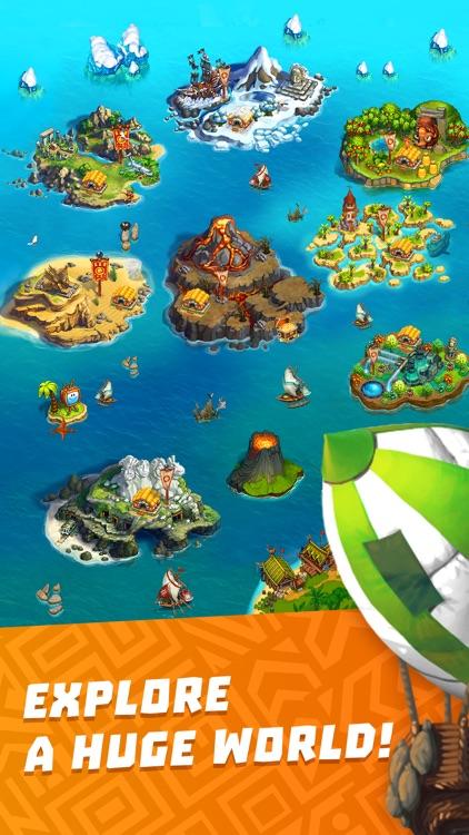 The Tribez: Build a Village screenshot-0