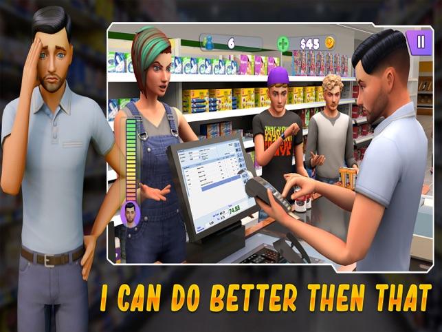 siêu thị mua sắm trò chơi 3D